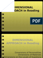 Dimensional Approach in Reading