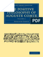Auguste Comte - The Positive Philosophy of Auguste Comte II