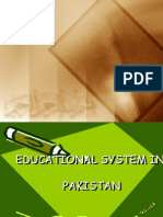 Educational System in Pakistan