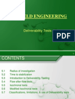 Gas Field Engineering - Deliverability Tests