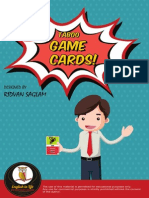 Toboo Game Cards (A1-A2)