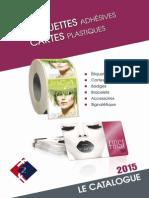 Catalogue Cartes Etiquettes 2015