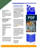 Folder Nieuwe Inschrijving 2014-2015