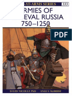#333 Armies of Medieval Russia 750-1250 (1999)