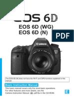 Canon EOS 6D Basic Manual
