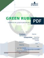 Green Rubber Expertos en Caucho reciclado