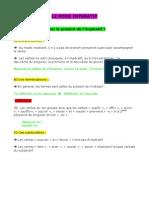 6° Grammaire - Impératif