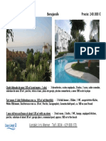 1 year old terraced House of about 120 m² with Sea Views