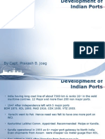 Indian Ports Developmnt 01.11.2014