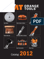 CMT Orange Tools English Catalogue 2012