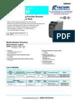G9SX-LM Low Speed Monitoring Unit Datasheet