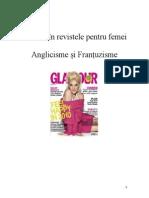 Lexicul in Revistele Pentru Femei