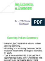 Indian Economy an Overview