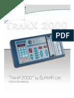 TranX 2000 Operator Manual