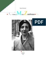 Cioran - Maria Zambrano