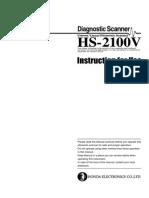 Honda HS2100VET Instruction Manual