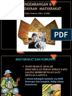 PEMBERDAYAAN MASYARAKAT 2011