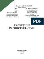 Rasfoire Exceptiile in Procesul Civil