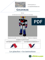 Grendizer Paper Craft