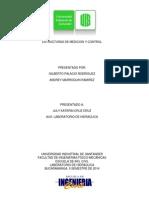 Estructuras de Medicion y Control