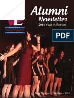 2014 Year in Review Alumni Newsletter