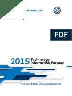 2015 Volkswagen WRC Technology Package