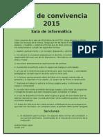 Pacto de convivencia 2015.