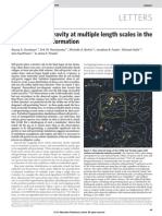 Nature Magazine- A role for self-gravity at multiple length scales in the process of star formation