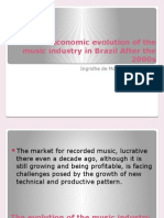 The Economic Evolution of the Music Industry In