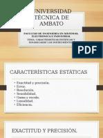 Caracteristicas Est-dina Instrumentacion