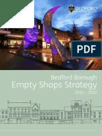 Empty Shops Strategy