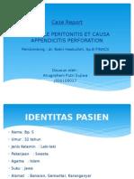 Case Report Peritonitis