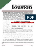 01 2015 Houston Economy at a Glance