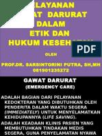 GAWAT DARURAT POLTEKES