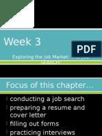 Week 3 Job Search 2