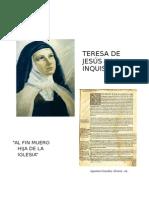 Agustina Gonzalez Alvarez - Teresa de Jesus y La Inquisicion