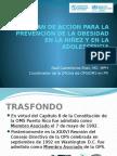 WHS PR Symposium - PLAN DE ACCION PARA LA PREVENCION DE LA OBESIDAD EN LA NIÑEZ Y EN LA ADOLESCENCIA