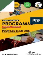 Programme 1er semestre
