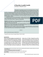 the affective use fluoride in public health