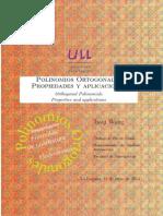 Polinomios Ortogonales. Propiedades y Aplicaciones