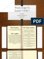 From Script to Screen OGR 1