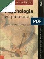 S. a. Rathus - Psychologia Współczesna