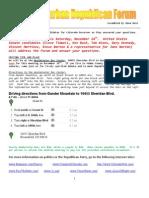 November 2009 - North Suburban Republican Forum Newsletter