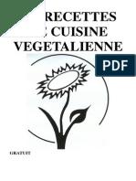 Recettes de Cuisine Vegetalienne