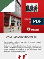 Comunica c i on No Verbal