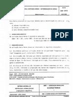 Nbr 10714 - 1989 - Mineral Contendo Urânio - Determinação de Urânio