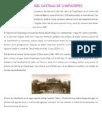 Castillo de Chapultepec Historia