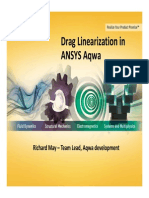 Ansys Aqwa Drag