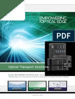 Optical Transport Solutions Brochure