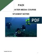 Underwater Media Student Notes